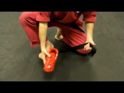 Sparring Boots Tutorial