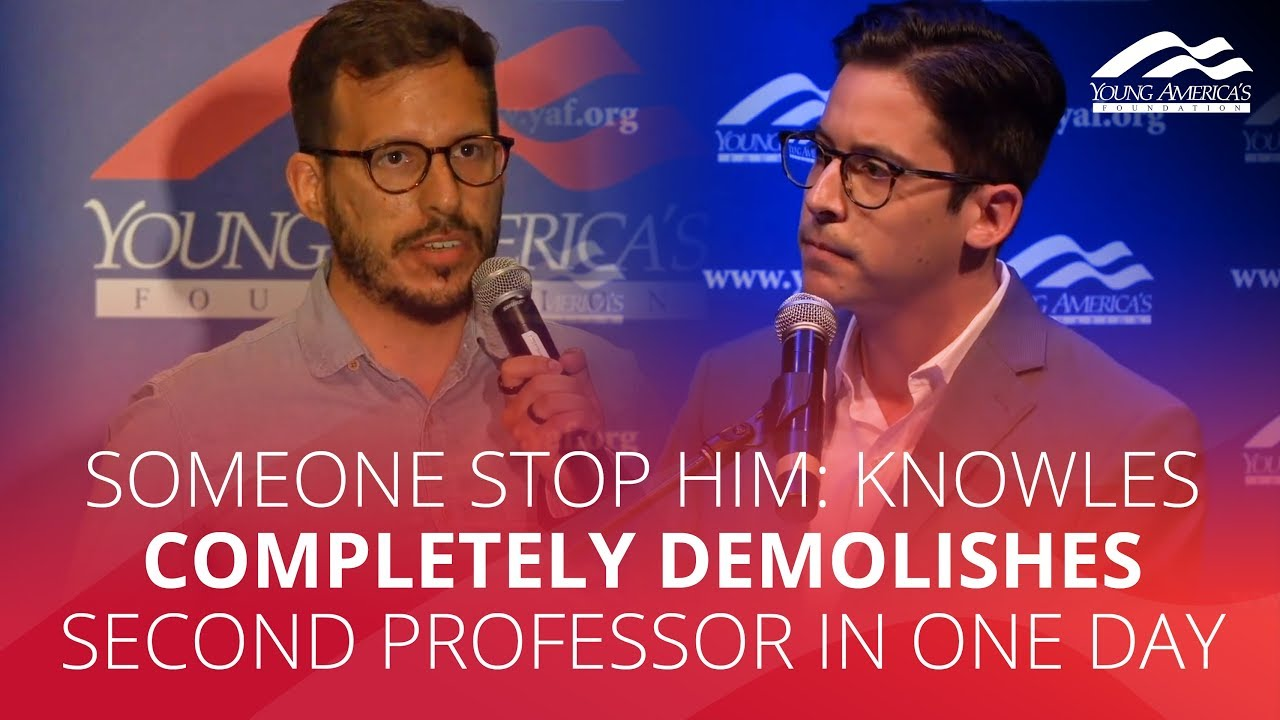 SOMEONE STOP HIM: Knowles completely demolishes second professor in one day