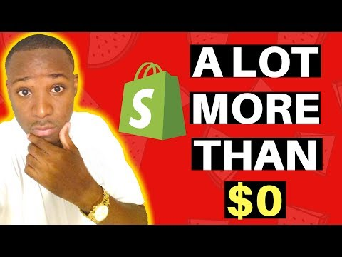How Much Does It REALLY Cost to Start Shopify Dropshipping (Truth)