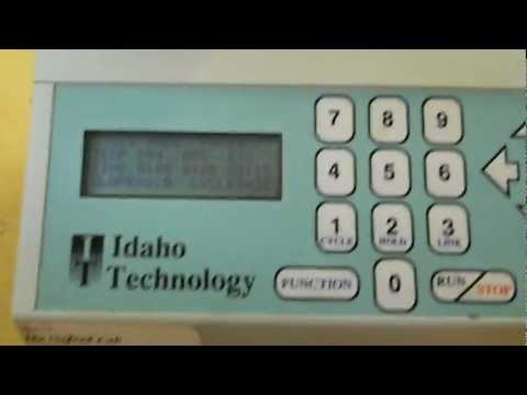 Idaho Technology RapidCycler - Our new PCR machine!