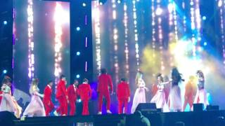 Salman khan da bang tour show romantic songs dance