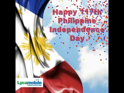 Lycamobile: Phillippine Independence Day