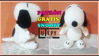 Snoopy Amigurumi (tutorial) - YouTube | 180x320
