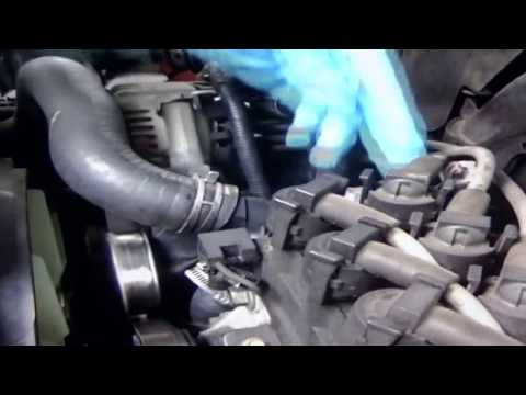 REPLACING THERMOSTAT HOUSING ON 2003 FORD EXPLORER