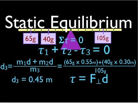 Physics, Torque (3 of 12) Balance Beam