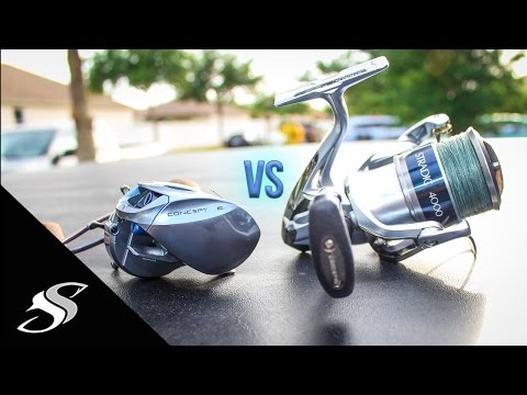 Spinning vs Bait Casting Reels - Which One is For You?