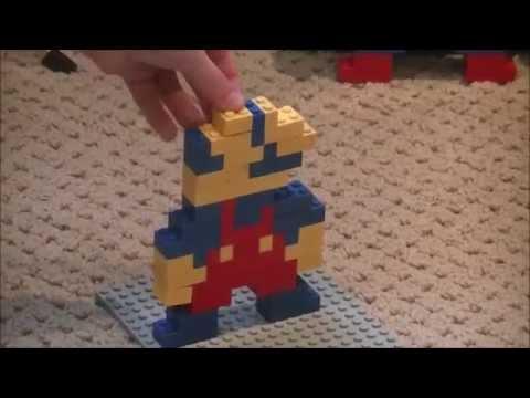 How to Build a Lego Mario