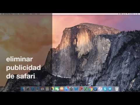 como eliminar/bloquear publicidad molesta del navegador safari en mac