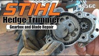 STIHL HS-45 HEDGE TRIMMER REPAIR