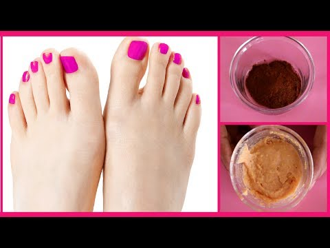 How to Remove Sun Tan From Feet || Feet Whitening Spa Pedicure At Home