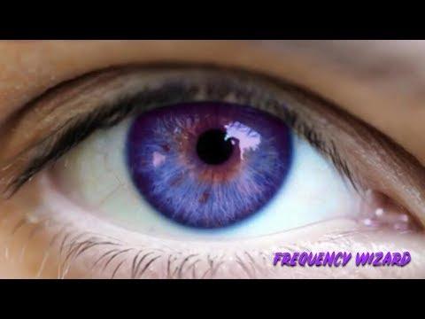 Change Your Eye Color to Dark Blue Purple Fast! Biokinesis Binaural Beats Subliminal Hypnosis