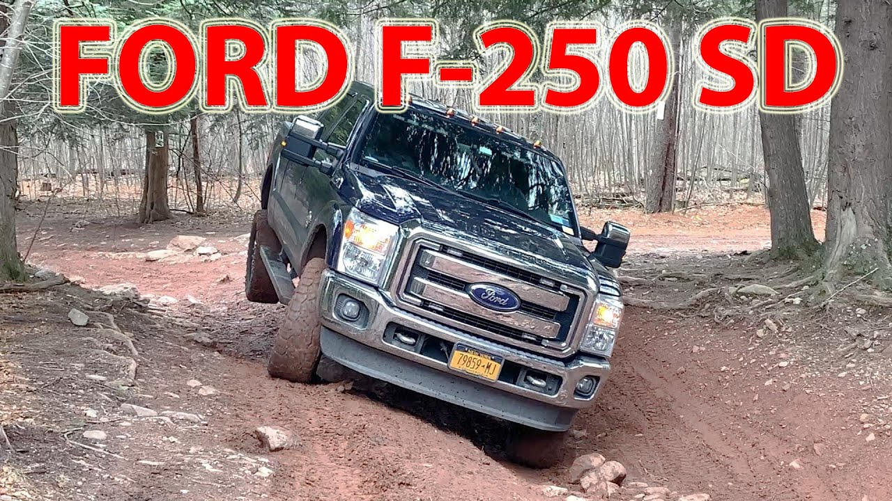 Ford F250 Off Road Extremely Capable 4x4 Full Size Pickup Truck