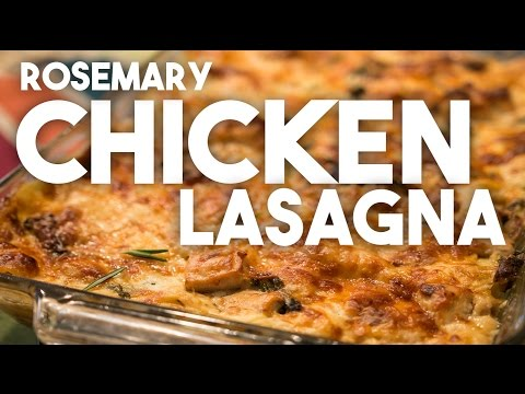 Rosemary Chicken Lasagna – a recipe from Lyndsay Wells, the Kitchen Witch