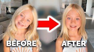 Everleigh Chops Her Hair Off!!! *NEW HAIR REVEAL*
