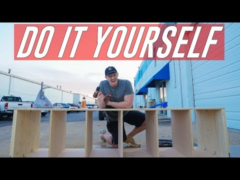 DO IT YOURSELF, PUSH DAY, & PROTEIN BARS | All In Ep. 9