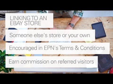 eBay Partner Network: Linking to an eBay Store
