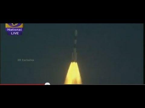 Mars Orbiter Mission; put into Earth's orbit (Launch streamed live from Sriharikota on Doordarshan)