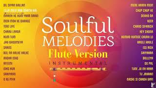 Audio Jukebox | Instrumental Hindi Songs / 30 Soulful Melodies | Flute Version ! Sujit DJ and music
