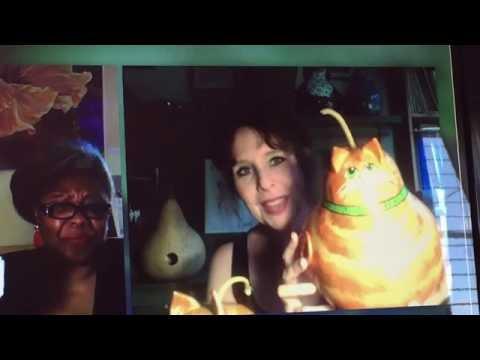 Painted gourds by award winning artist Devon Cameron