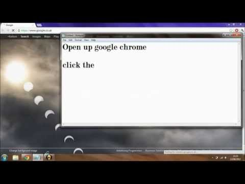 How To Change Your Internet Homepage On Google Chrome (HD)