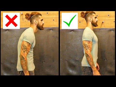 Fix Bad Posture in 10 Mins | 4 EASY EXERCISES to CORRECT Your Posture