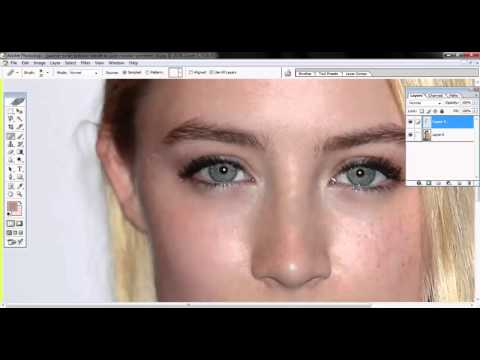 How to soften skin in photoshop 7