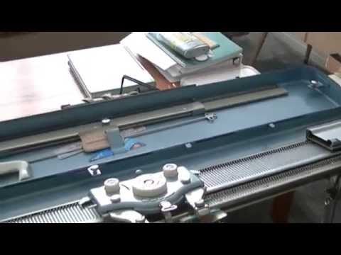 How to use your vintage Brother Knit Knitting Machine Part I - setting up