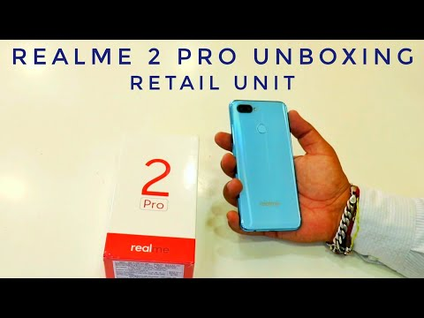 Real Me 2 Pro Unboxing Retail Box & First Look