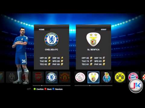 PES 2013 Demo - 154 teams patch preview