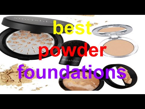 The best powder foundations