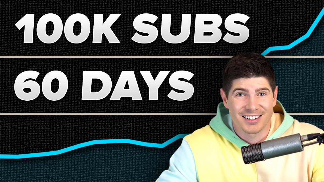 How to Grow on YouTube 2021   0 to 100K SUBS IN 60 DAYS!