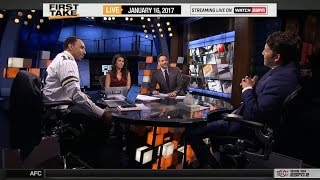 ESPN First Take - Stephen A. Smith vs Will Cain On Green Bay Packers Defeat Dallas Cowboys