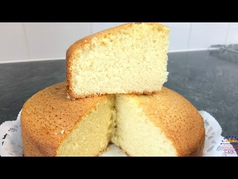 How to Make Super Soft Sponge Cake