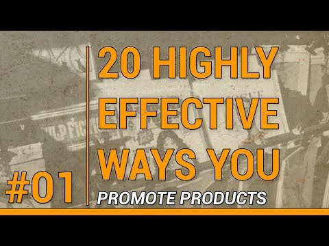 SHOPIFY TODAY PODCAST::   20 HIGHLY EFFECTIVE WAYS TO PROMOTE YOUR PRODUCT (#01)