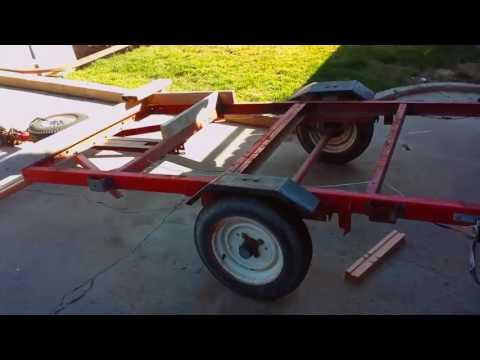 DIY Enclosed Trailer
