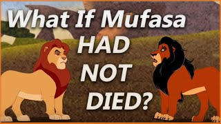 WHAT IF MUFASA SURVIVED THE FALL? | Lion King Deleted Scene
