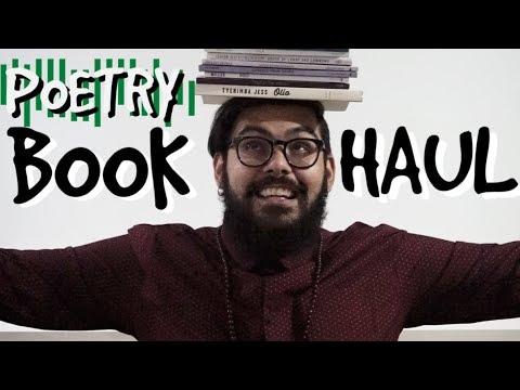 Poetry Book Haul October 2017