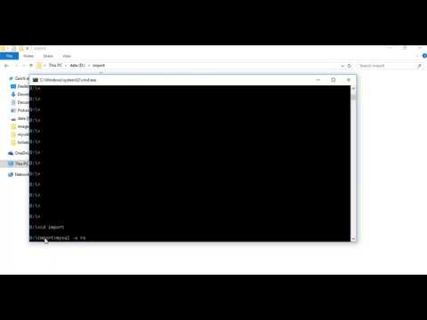 How to import database using Command Line (CMD) in MySQL