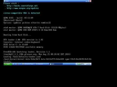 How to create USB Bootable PFSense MemStick