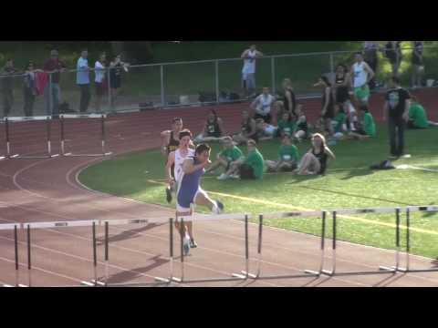 300M Hurdles High School Track Terra Linda vs Novato & Drake March 18 2010