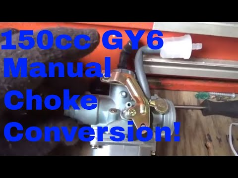 Hammerhead, 150cc GY6 Electric choke issues, Easy $20 Conversion to