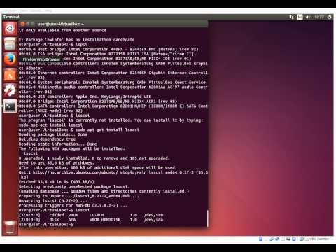 Ubuntu/Linux cli commands - get system information
