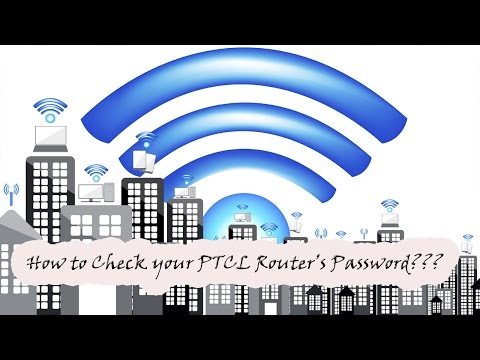 How to Check Your Ptcl Broadband Router's Wifi Password | Free Wifi Password