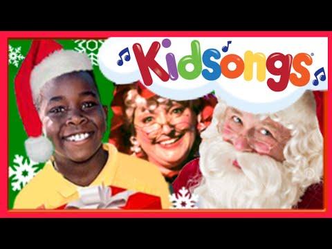 The Best Santa Songs | Kids Christmas Songs | Rudolph the Red Nosed Reindeer part 4  |Kidsongs PBS