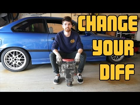 How to replace the differential on a BMW E36