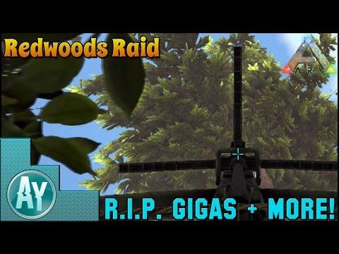 Ark: Redwoods Raiding/Griefing Official PvP Server