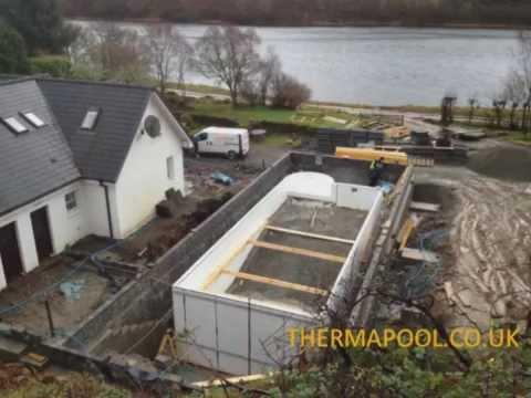 Scotland indoor swimming pools deck level pool