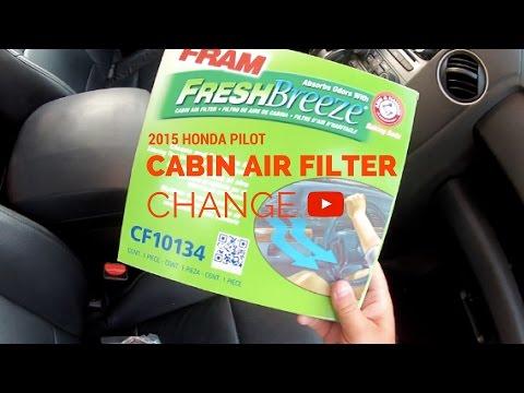Honda Pilot Cabin AIR FILTER change