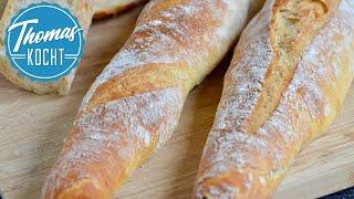 Baguette backen wie in Frankreich | Rezept