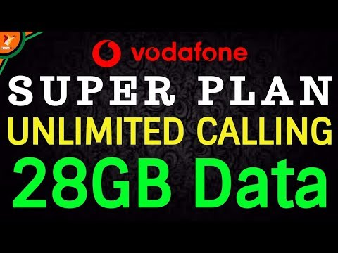 Jio Effect - Vodafone Super Plan Rs 176 Plan With Unlimited Calling & 1GB Data Per Day | Data Dock